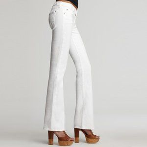 7 For All Mankind Kimmie Bootcut Jeans White 30
